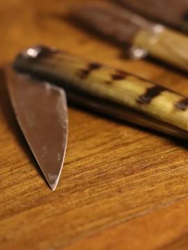 Ökkeş Çelik Bıçağı Boynuz Sap- K2